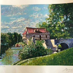 Signed Serigraph